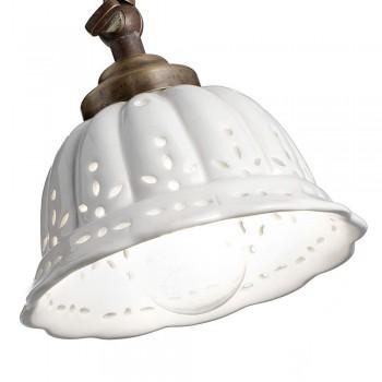 Aplique curvo de cerámica ANITA 061.19.OC IL FANALE