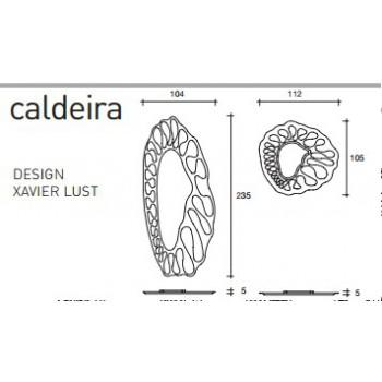 CALDEIRA ESPEJO CL110R-CL102E FIAM